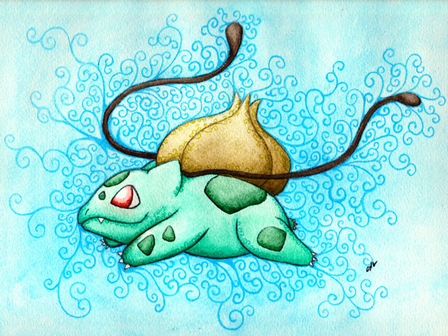 Watercolor Bulba