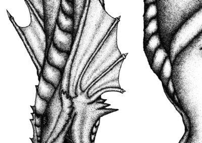 Pointillism Dragon