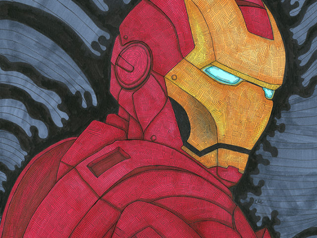 Iron Man Copic