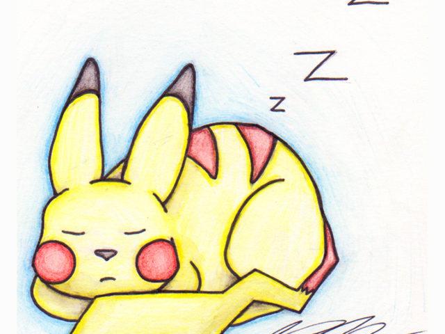 Sleeping Pika