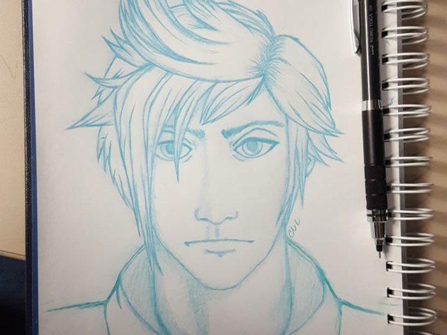 Prompto Sketch